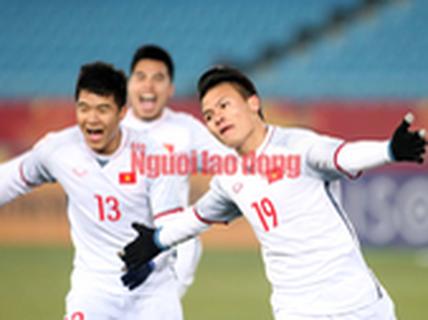 PNJ cam kết tặng ít nhất 1 kg vàng cho đội U23 Việt Nam