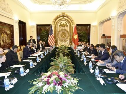 Việt Nam-Mỹ đối thoại về Chính trị-An ninh-Quốc phòng