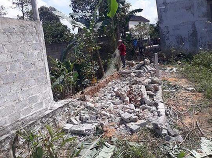 Cưỡng chế tháo bỏ hẻm đường mà nguyên thiếu tá Công an huyện lấn đất dân
