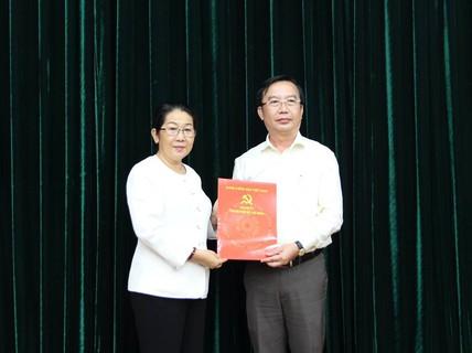 Ông Trần Thế Thuận giữ chức Chánh Văn phòng Thành ủy TP HCM