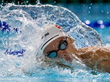 """""""Rái cá sông Gianh"""" Huy Hoàng bơi đến Olympic"""