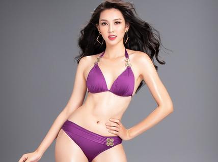 Đường cong nóng bỏng của người đẹp Việt Nam tại Miss International 2018