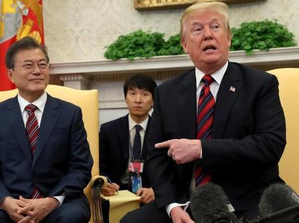 """Mỹ """"nhảy dựng"""" vì Hàn Quốc và Triều Tiên muốn lập vùng cấm bay"""