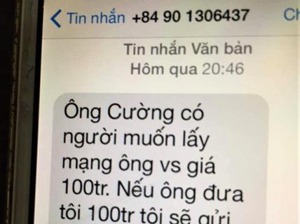 Tin nhắn đe dọa lãnh đạo Văn phòng đoàn ĐBQH có sau khi thông qua Luật An ninh mạng