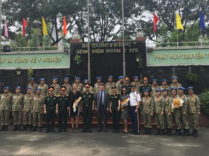 Trợ lý bộ trưởng Quốc phòng Mỹ thăm Việt Nam lần thứ ba trong 9 tháng