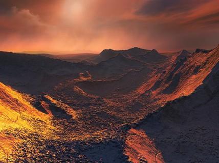 Phát hiện siêu trái đất màu cam cực gần chúng ta