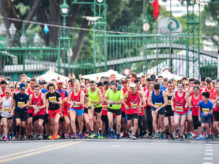 Thử thách bản thân qua giải marathon