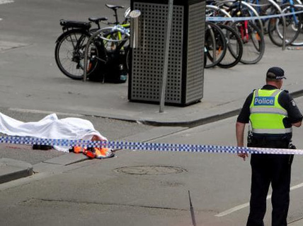 Úc: Đốt xe, đâm chém loạn xạ trên phố ở Melbourne