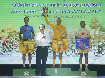 Sarda Javier Perez đoạt Áo vàng chung cuộc Giải đua xe đạp Nam Kỳ Khởi Nghĩa - Cúp VOH mở rộng 2018