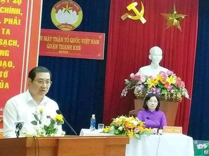 """Chủ tịch Đà Nẵng Huỳnh Đức Thơ: """"Việc tôi đi hay ở là do Trung ương quyết định"""""""