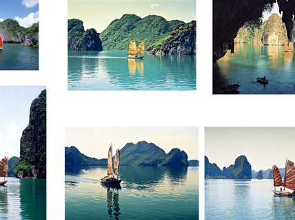 Những góc máy đẹp ngỡ ngàng về Hạ Long