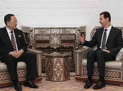 """Triều Tiên xác định có """"chung kẻ thù"""" với Syria"""