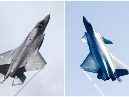 F-35 của Mỹ và J-20 của Trung Quốc lên bàn cân