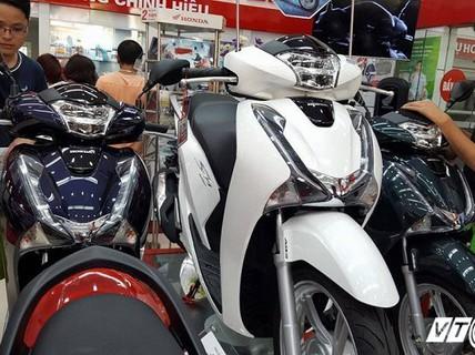 Honda SH đắt kỷ lục, đôn thêm 24 triệu dịp Tết Nguyên đán
