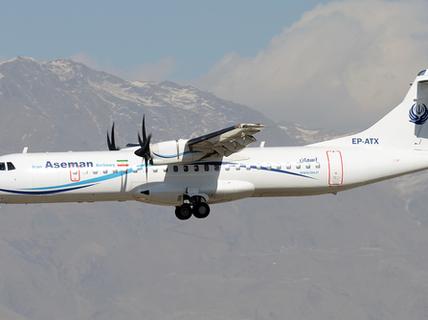 Iran: Máy bay chở 66 người đâm vào núi