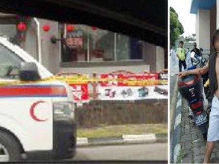 Người đàn ông nghi bị tâm thần trộm xe cứu thương dạo phố