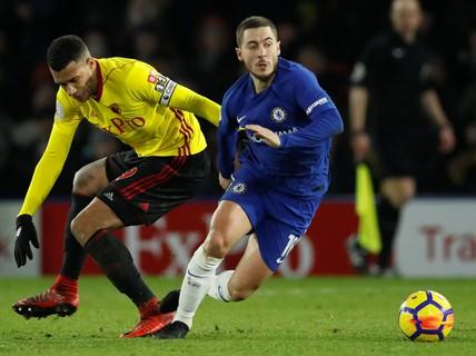 Chelsea thua đậm Watford, ghế Conte sắp đổ