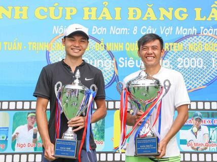 Lý Hoàng Nam vô địch Giải Quần vợt Tây Ninh mở rộng 2018