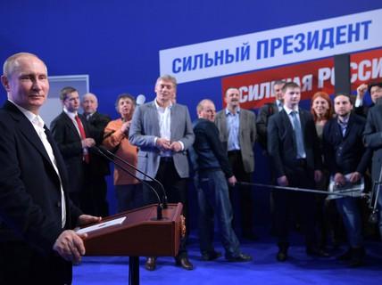 Tượng đài Putin ở Nga