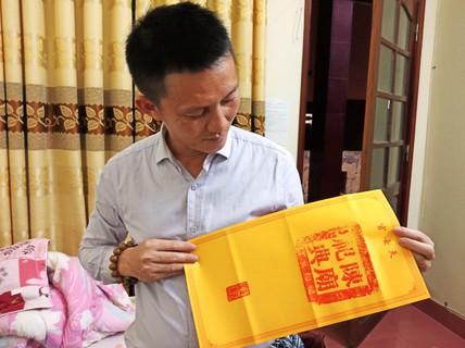 Clip ấn đền Trần vẫn bán tràn lan trước giờ phát ấn
