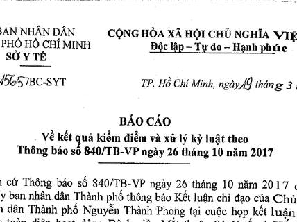 Nguyên Giám đốc BV Mắt TP HCM đòi đối thoại với ông Hứa Ngọc Thuận