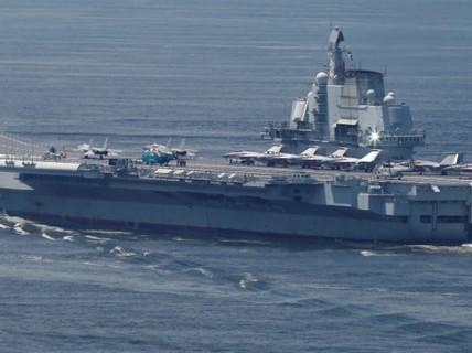 """Trung Quốc điều tàu sân bay """"dằn mặt"""" Đài Loan"""
