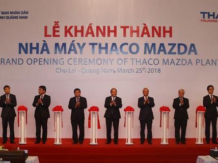 Quảng Nam có nhà máy ô tô hiện đại nhất Đông Nam Á