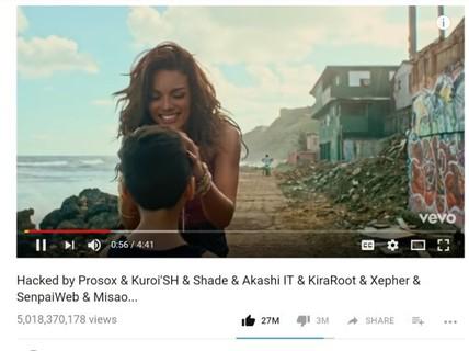 Ca khúc 5 tỷ view Despacito bị hack và xóa khỏi YouTube