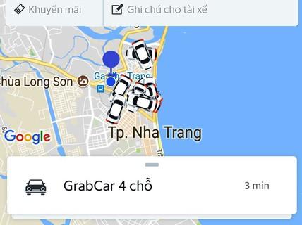 """Grabcar gây """"sóng gió"""" ở Nha Trang"""