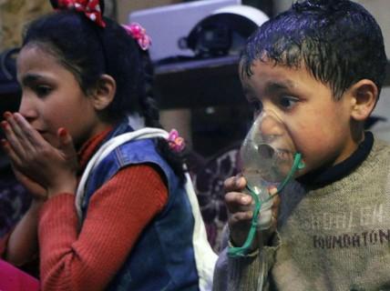"""Vụ tấn công hóa học ở Syria là """"chiến dịch bài Nga""""?"""