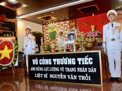 Đưa hài cốt liệt sĩ Nguyễn Văn Trỗi về Nghĩa trang Liệt sĩ TP HCM