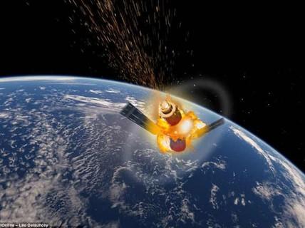 Thiên Cung-1 đã rơi xuống Nam Thái Bình Dương