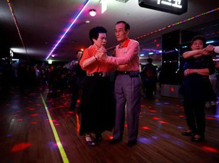 Sàn nhảy của người già