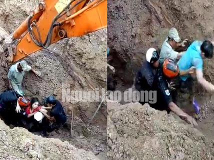 Video: Nín thở xem cứu sống 2 vợ chồng bị chôn sâu trong đất