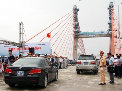 Hợp long cầu Bạch Đằng, đi Hà Nội-Quảng Ninh chỉ còn 90 phút