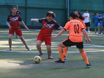 """Sức sống bóng đá """"phủi"""" nữ TP HCM"""
