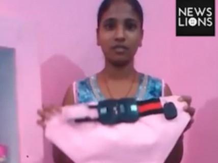 """Nội y chống """"yêu râu xanh"""" của thiếu nữ Ấn Độ"""