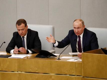 """""""Nước Nga trên hết"""" của ông Putin"""