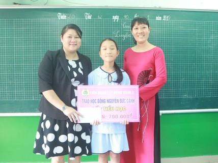 Vận động quyên góp cho Quỹ Học bổng Nguyễn Đức Cảnh