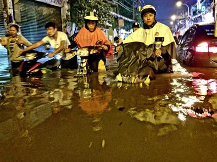 TP HCM cũng có mùa nước nổi!