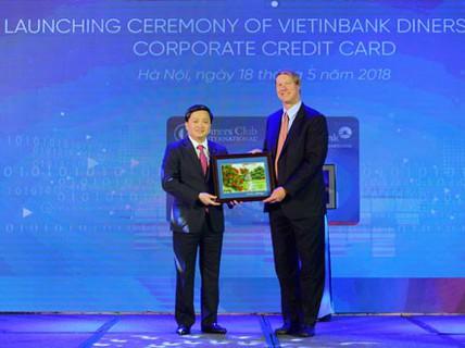 Ra mắt thẻ tín dụng quốc tế VietinBank Diners Club