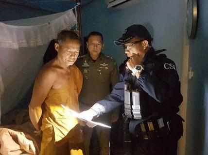 Thái Lan bắt giữ nhiều cao tăng