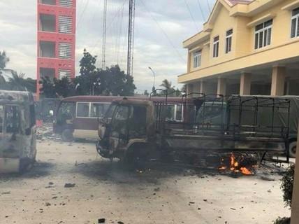 Bộ trưởng Công an làm việc với tỉnh Bình Thuận về vụ gây rối