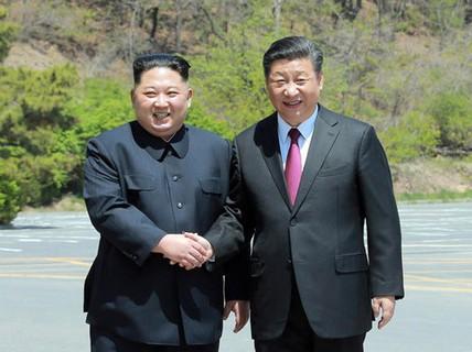Ông Kim Jong-un qua thăm, Trung Quốc hành động khác lạ