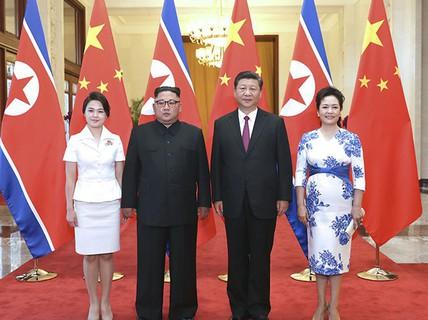 """Ông Kim Jong-un: """"Quan hệ Trung-Triều đặc biệt chưa từng có"""""""