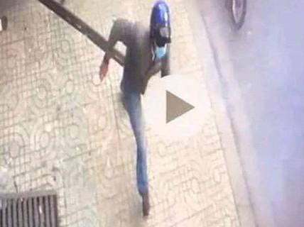 Tạm giữ một thanh niên trong vụ nổ trước công an phường
