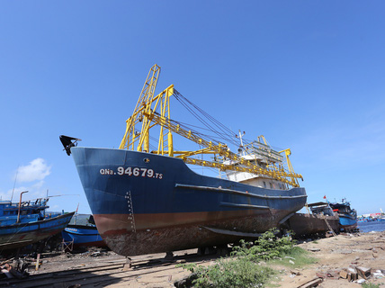 Sau BIDV, đến lượt công ty đóng tàu kiện ngư dân