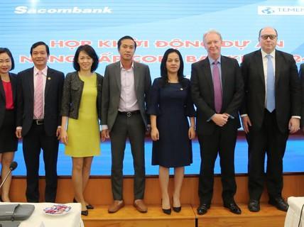 Sacombank nâng cấp ngân hàng lõi