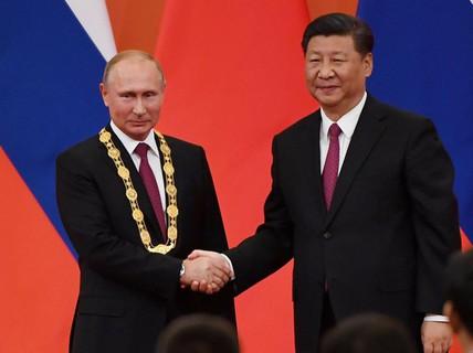 """Chủ tịch Trung Quốc tặng ông Putin món quà """"độc nhất vô nhị"""""""