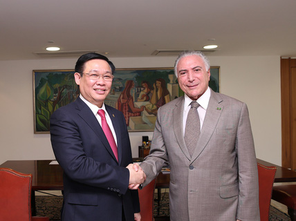 Brazil xem xét, công nhận quy chế kinh tế thị trường của Việt Nam